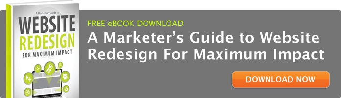 FREE eBOOK: A Marketer's Guide to Website Redesign for Maximum Impact