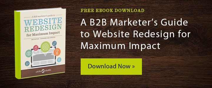 Free eBook - A Marketer's Guide to Website Redesign